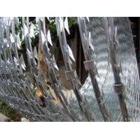 Cheap SS Powerful Security Razor Wire Anti Corrosion 450mm - 980mm Outside Diameter for sale