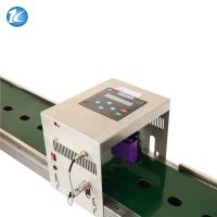Best Industrial Automatic Egg Date Stamp Machine 600dpi Thermal Foam Type wholesale