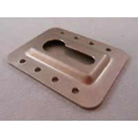 Best Chromate Plated Custom Metal Stampings , Sheet Metal Press Parts OEM Services wholesale