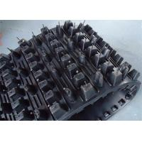 Buy cheap Black Four Wheeler Snowmobile Rubber Track Lightweight Shock Slightly from wholesalers