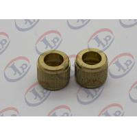 Knurling Precision Machining Parts Flat Head Hollow Brass Injection Plastic Nuts