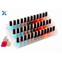 Best Nail Polish Counter Acrylic Display Rack Showcase Multi Tiered Good Chemical Resisdence wholesale