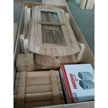 Quality 3-4 Person Red Cedar Barrel Sauna Room With Harvia Burning / Elecrical Sauna Heater wholesale