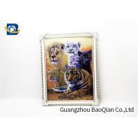 Home Decor Picture 3D Animals Photos Tiger Wall Printing Flip Image 0.6MM for sale