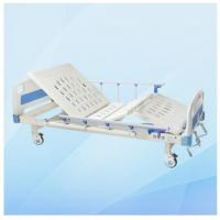 Best Two Functions Adjustable Manual Hospital Bed MD-M16 with Cold Rolled Steel Frame wholesale