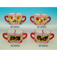 Best Household Cool Funny Couples Coffee Mug Sets , Love Mugs Couple Heart Mugs wholesale