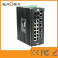 Quality Unmanaged EIB28-18E-4G Industrial Ethernet Switches 1000Base-X SFP Port wholesale