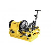 Buy cheap Heavy Duty Switch Compact Electric Pipe Threading Machine 24 /10 RPM from wholesalers