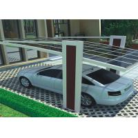 Buy cheap Waterproof Design Solar Car Parking Shed High Snow Load And Wind Load Carport from wholesalers