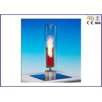 Buy cheap Temperature Oxygen Index Apparatus OI / TOI With Temperature 400°C from wholesalers