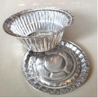 Household ISO9001 3004 0.2mm Aluminum Food Containers for sale