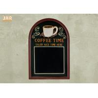 Best Decorative Wooden Framed Wall Hanging Chalkboards Coffee Time Wall Sign wholesale