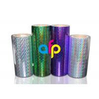 Best BOPP Laser Holographic Film For Lamination Machine 180mm - 1300mm Width wholesale