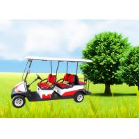 Quality Big Tyre 6 Seater Golf Cart , Street Legal Electric Golf Carts Ce Approved wholesale