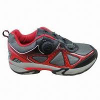 China Men's Sports Shoes with EVA Outsole and PU Upper, OEM/ODM Orders are Welcome on sale