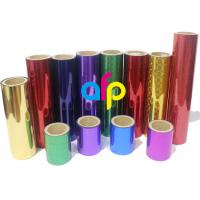 Best 26 Mic Holographic Lamination Film , Packing Premium Cold Laminating Film wholesale