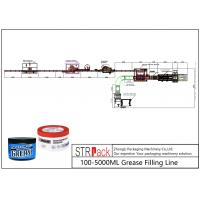 Best 100 - 5000ml Liquid Soap Filling Machine Grease Filling Line 0.6 - 0.8MPa Working Gas Source wholesale