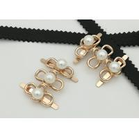 Best Big Pearl Zinc Alloy Buckle 35*2MM 5.3g Easy To Assemble Environmental Plated wholesale