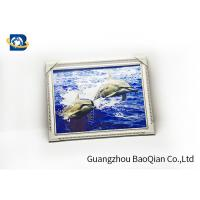 PP / PET Material 3D Lenticular Pictures Art Picture Framed Customized Photo for sale