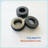 China factory supplier nanocrystalline and amorphous metal cores for HF transformer and common mode choke coil on sale