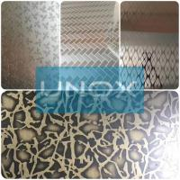 304 Bronze Color Stainless Steel Sheet Hairline Finish-lUnox Color Stainless for sale