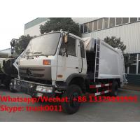 Best Factory sale bottom price dongfeng 10m3 compression garbage truck refuse garbage truck customized for Kyrgyz Republic wholesale