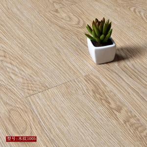Best High strength high flexibility wood grain uv coating embossed PVC vinyl flooring planks wholesale