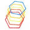 Hexagonal Octagon Speed Ladder , Dia.50cm Football Speed Rings for sale