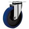 Best Swivel Plate Industrial Caster Wheels With Sheet Metal Bracket Roller Bearing wholesale