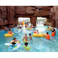 Quality Family Fun Water Park Wave Pool for kids or adults / Water Park Project wholesale