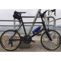 China 7-tiger carbon road mini bike 20 inch frame bmx road bicycle 451 frame 480 mm size 3k weave gloss   BSA bb on sale