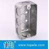 Best TOPELE 58351 / 58361 / 58371 Galvanized Steel Box Rectangular Handy Box Utility Box wholesale
