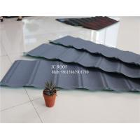 Best Original Stone Coated Roofing Tiles , Steel Stone Coated Metal Roof Tile wholesale