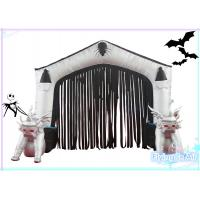 Quality 2m(H)*3m(W) Oxford Inflatable Halloween Door for Halloween Decoration wholesale