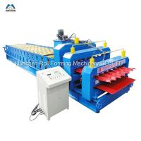 Buy cheap 4+4KW Double Deck Roll Forming Machine Manufacturer from wholesalers