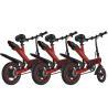 Best 36V 10AH Foldable Electric Bike , Long Range Lightest Electric Folding Bike wholesale