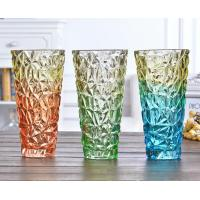 Best Rose Flower Decorative Glass Vases Machine Press For Friend Restroom Desktop wholesale