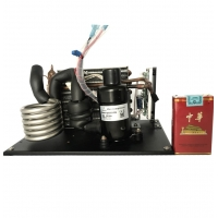 China Mini Portable Medical Oil Less Compressor for Small Cooling System and Liquid Chiller Module for sale