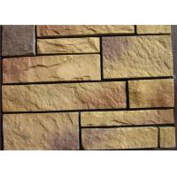 Quality Light Texture Colorful Faux Artificial Wall Stone With Rich Original Flavor wholesale