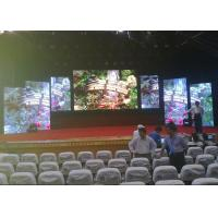 Quality 500mm x 500mm HD Indoor 4.81mm Full Color Die-casting Aluminum Cabinet Stage Rental LED Display wholesale