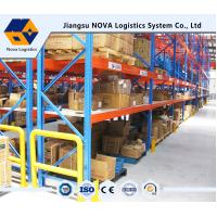 Cheap Customized Pallet Rack Storage Systems With Steel Q235 ISO9001 SGS CE for sale