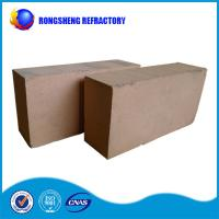 Quality Bauxite Faint Yellow insulating refractory brick , Iso high alumina brick wholesale