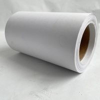 China 95g White Silicon Liner Strong Adhesive Label 1080mm X 1000m for sale
