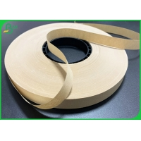 China 60gsm 15mm Width Food Grade Kraft Paper For Straw Surface Material for sale
