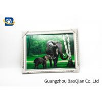 Customized Size 3D Lenticular Pictures Animal Decorative Framed Picture for sale