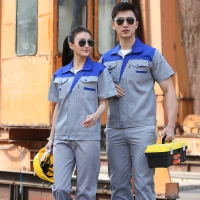 Best Colorfast Anti UV Safety Officer Uniform Working Style wholesale