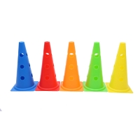 38cm 48cm Agility Soccer Training Equipment Plastic Cones For Sports for sale