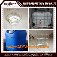 Best 25kgs Plastic drum packing  Glacial Acetic Acid 99.8% wholesale