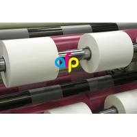 Best 42 Dynes Double Corona Treatment Thermal Roll Matte Laminating Film for Hot Stamping and Spot UV wholesale