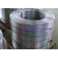 ASME SA213 TP316L Stainless Steel Coil Tubing Pickled / Bright Annealed Surface for sale